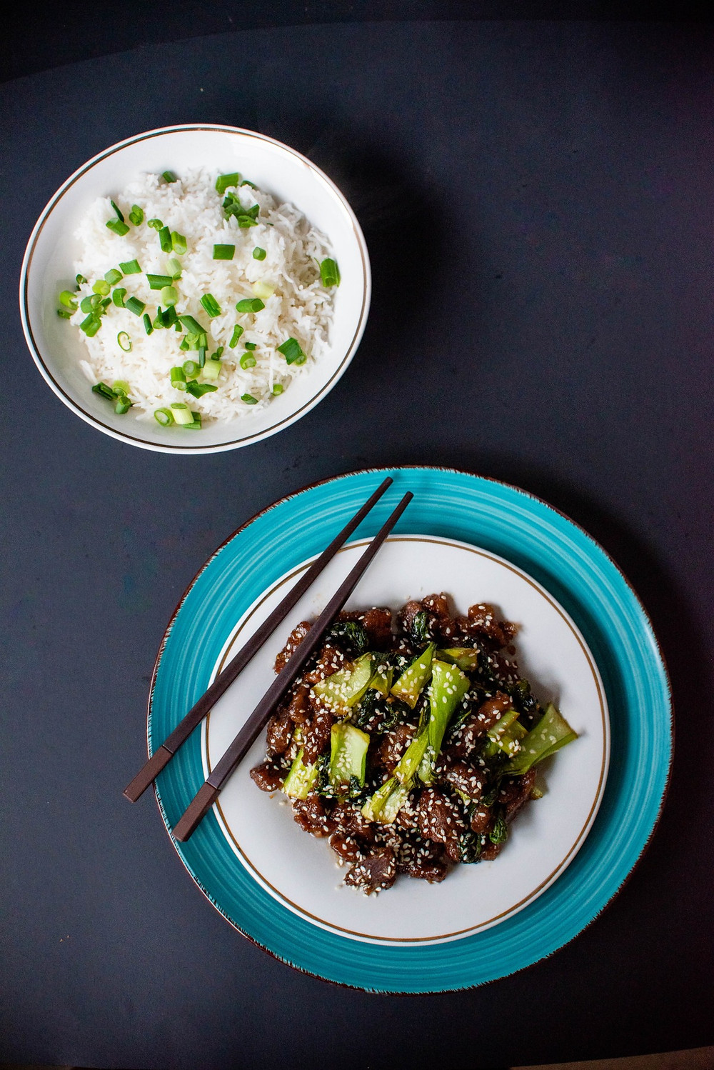 Quick and Easy Mongolian Beef with Bok Choy