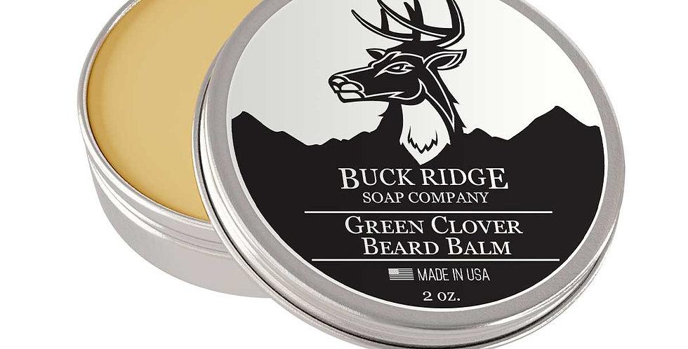 Green Clover Beard Balm