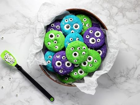 Monster Halloween Cookies