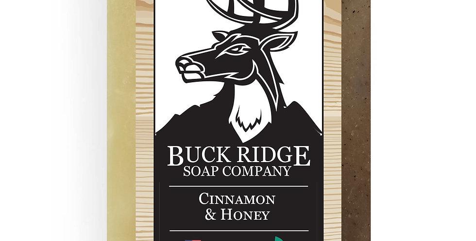 Cinnamon and Honey Handmade Soap