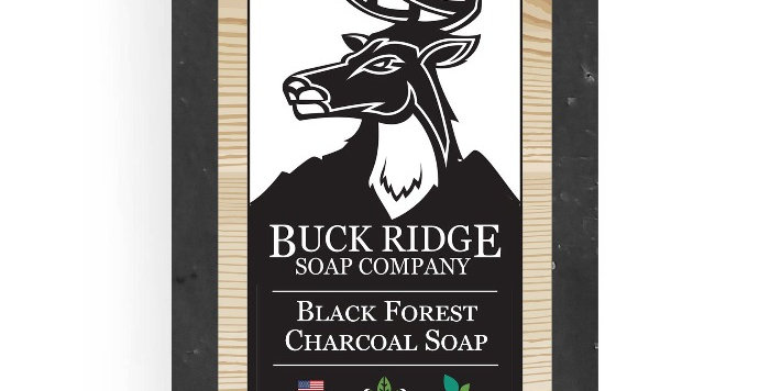 Black Forest Charcoal Handmade Soap
