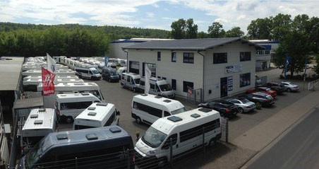 Die Firma Heck Caravan & Reisemobile