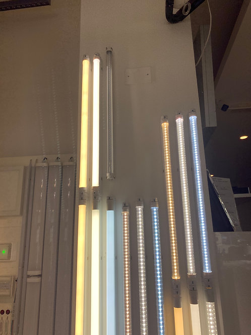 NEON LED T8 60cm 9W/10W LUCE CALDA / NATURALE / FREDDA