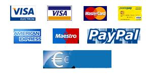 Metodi di pagamento accettati sul sito l