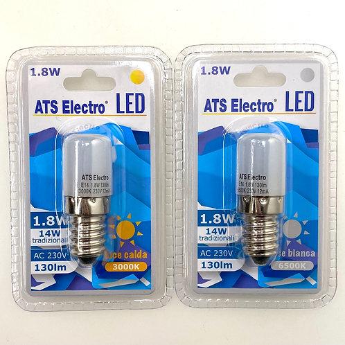 LAMPADINA LED FRIGO 1,7W/1,8W E14 220V LUCE CALDA / FREDDA