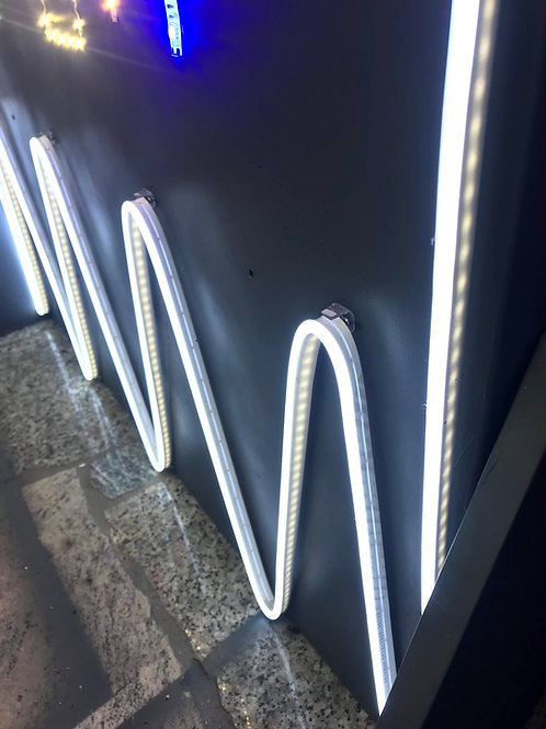 LED NEON STRIP 10W/m IP65 12V LUCE FREDDA, CALDA, ROSA