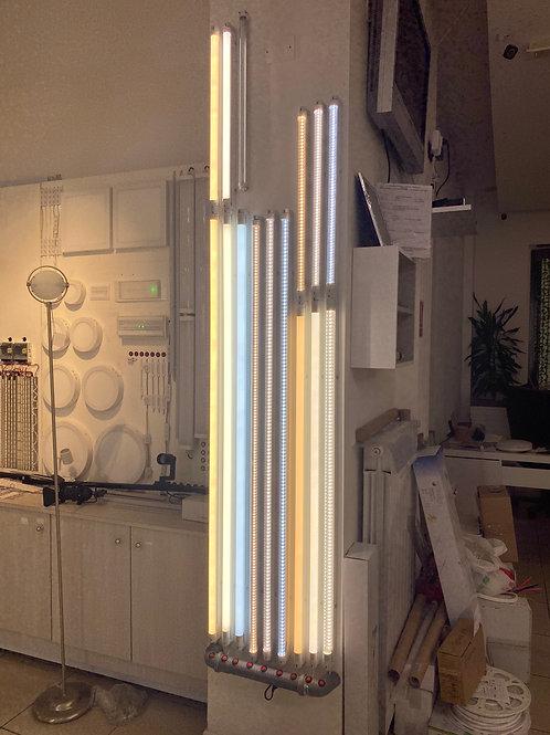 NEON LED T8 150cm 24W VETRO BIANCO LUCE NATURALE