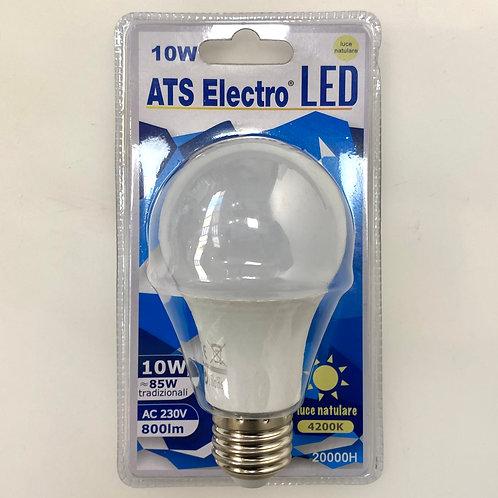 LAMPADINA LED A60 10W E27 220V LUCE NATURALE / FREDDA