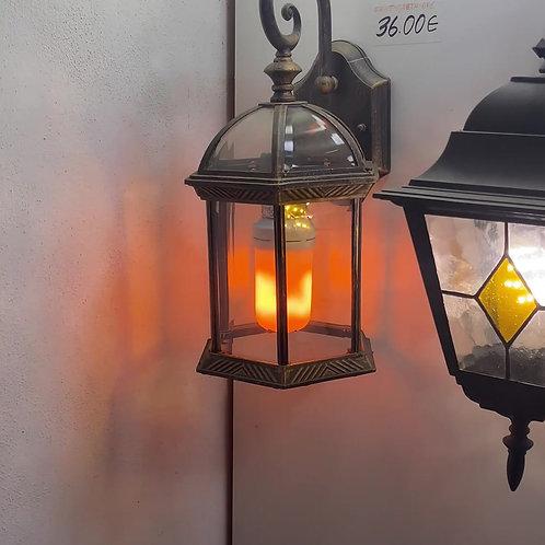 Lampadina Led decorativa effetto fiamma 5W E27 220V con 4 modalità di accensione