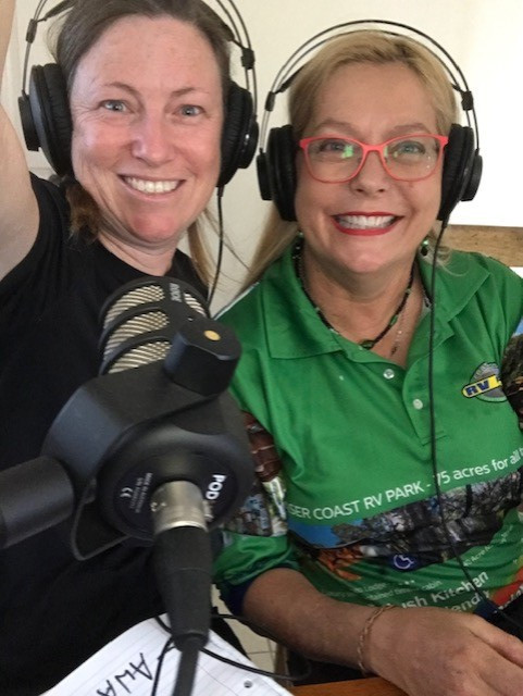 Podcast interview chatting Australian Tourism in the Fraser Coast.