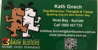 Bark Busters is now in the Fraser Coast Region.