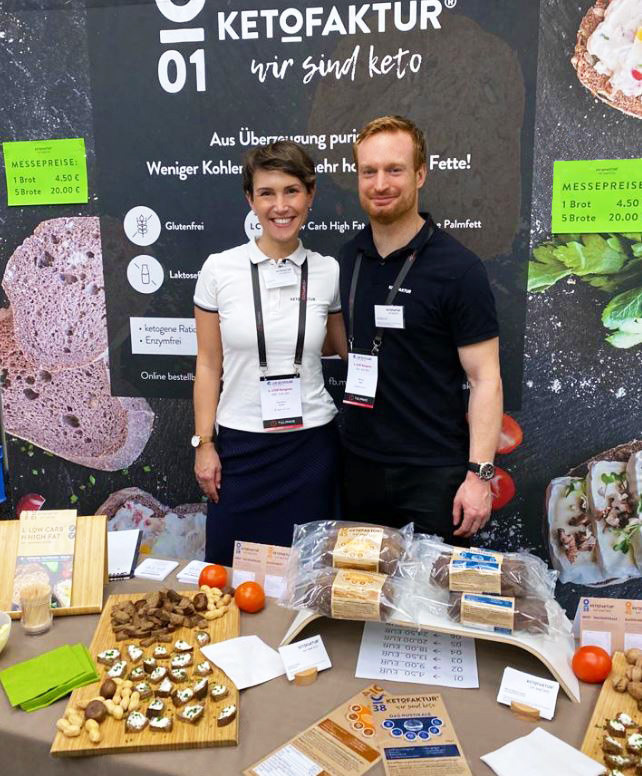 Christiane Wader, Founder, and Marcus Jaeger, CEO of KETOFAKTUR