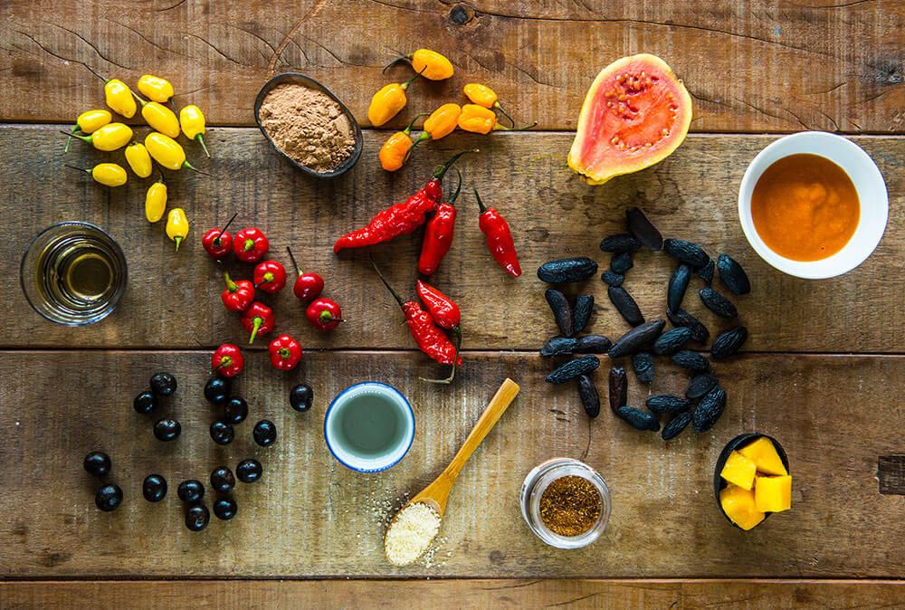 Ingredients from Brazilian biodiversity - Soul Brasil Cuisine