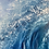 Thumbnail: Force of Nature - Framed Blue Wave Oil Painting - 59cm x 59cm