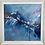 Thumbnail: Release - Framed Abstract Oil Painting - 59cm x 59cm Blue Art