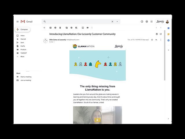 LlamaNation Intro Email