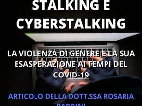 Stalking e Cyberstalking