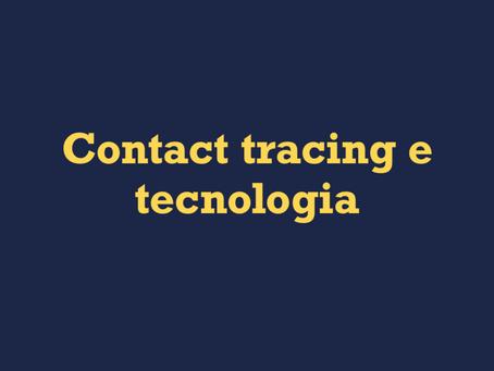 Contact tracing e tecnologia
