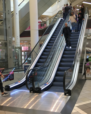 Shopping centre cleaned with FreshClean only