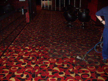 Bristol nightclub carpet cleaned with FreshClean