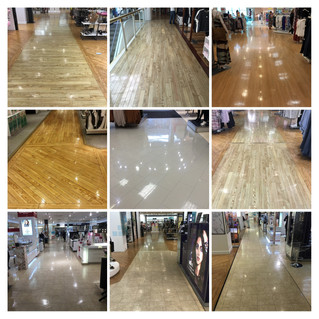 Amtico and tiles maintained with FreshClean