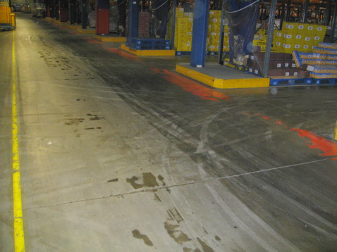 Distribution Centre after just two passes with FreshClean