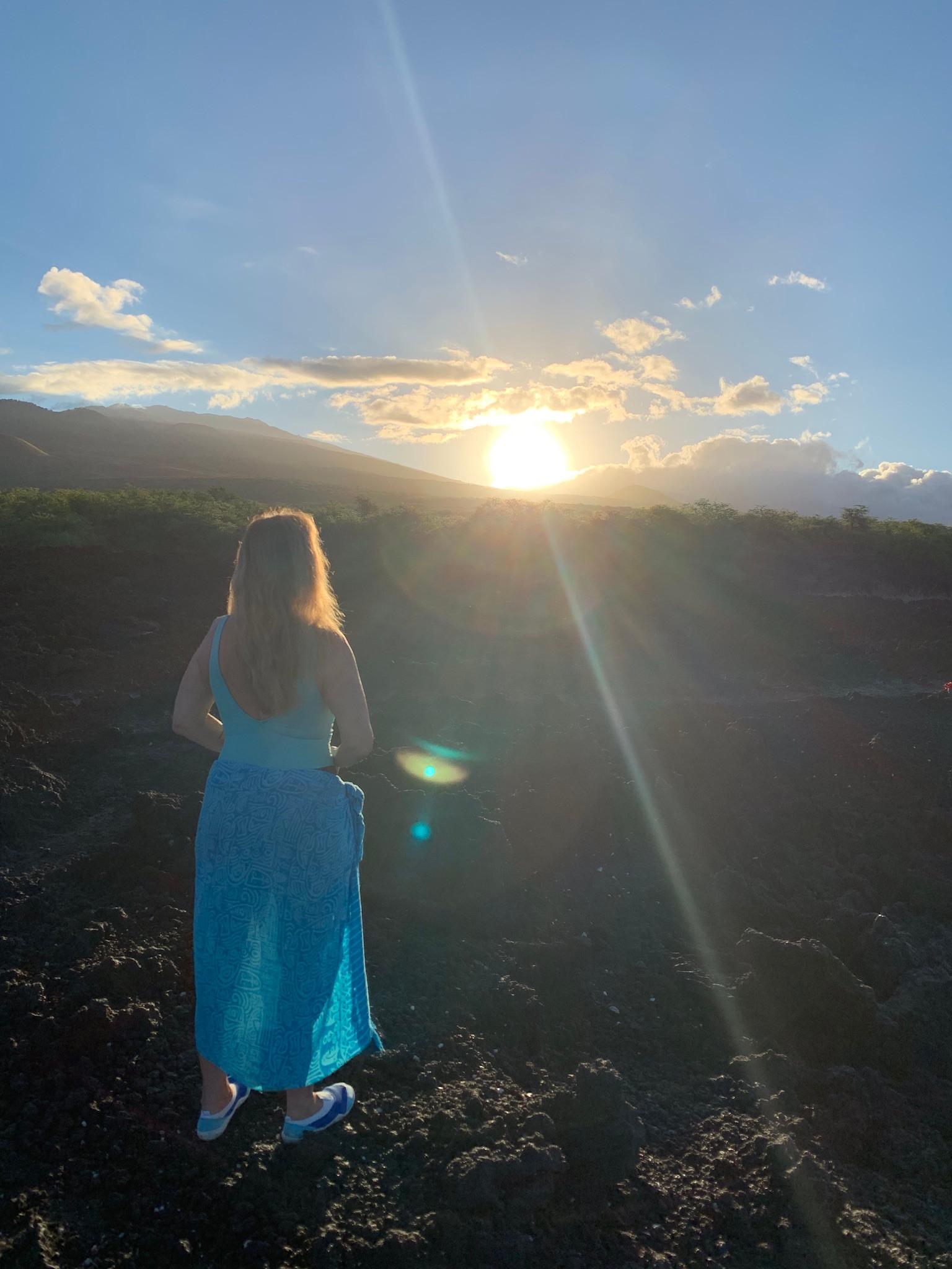 Hysterectomy, on Maui