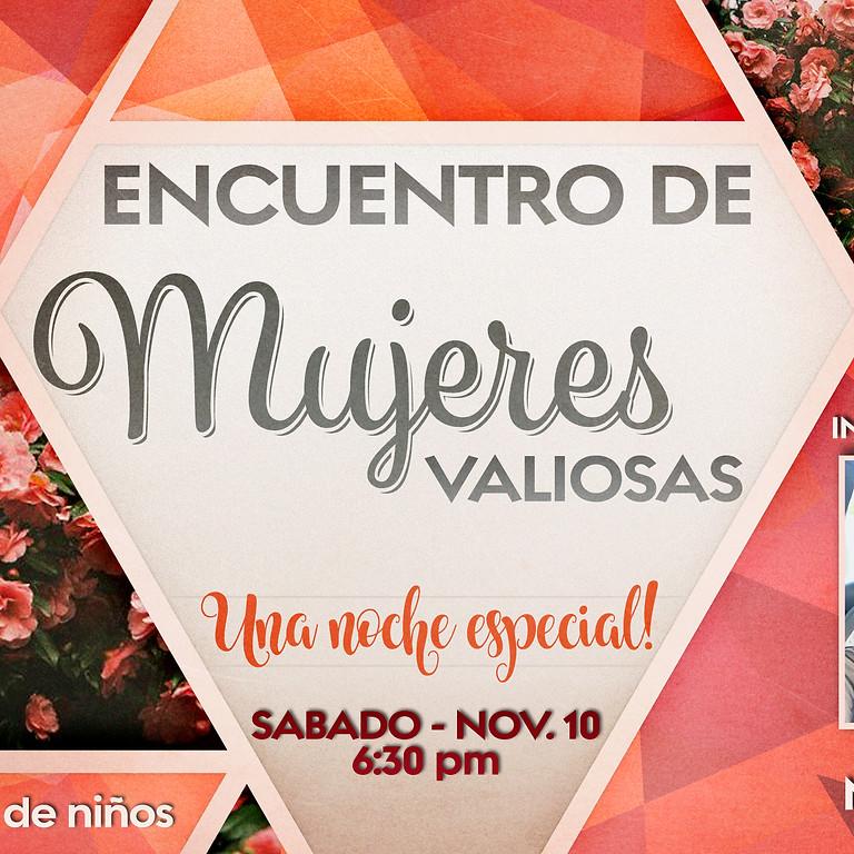 REUNIÓN DE MUJERES con Pastora Mary Silva (invitada especial)