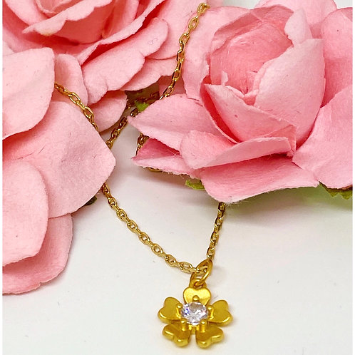 Purity and Joy Gardenia Necklace