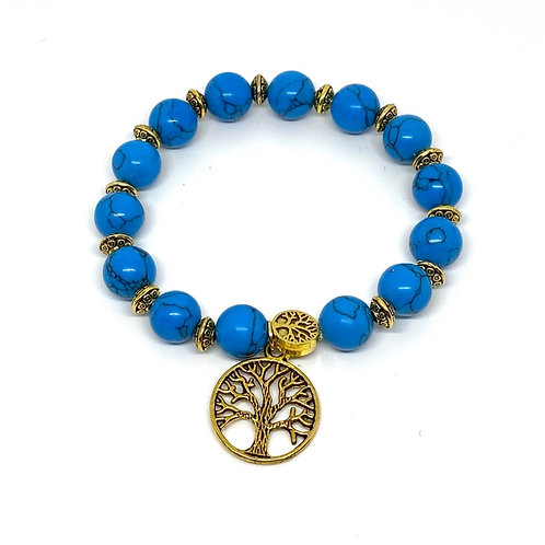Australia Turquoise Beaded Bracelet