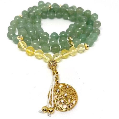 Abundance Prayer Necklace
