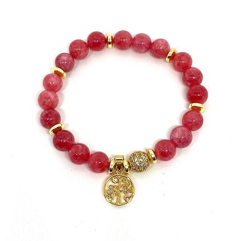 Love and Strength Gemstone Bracelet