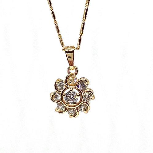 Magnolia Gold Necklace