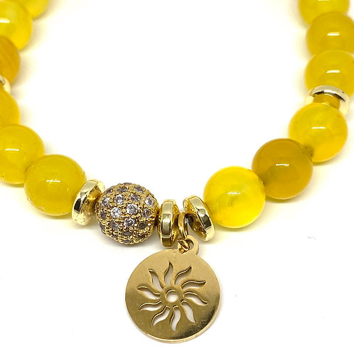 Love and Sunshine Gemstone Bracelet