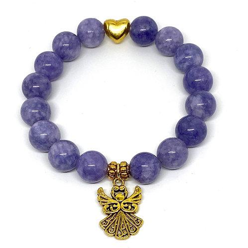 Tranquility Angelite Gemstone Bracelet