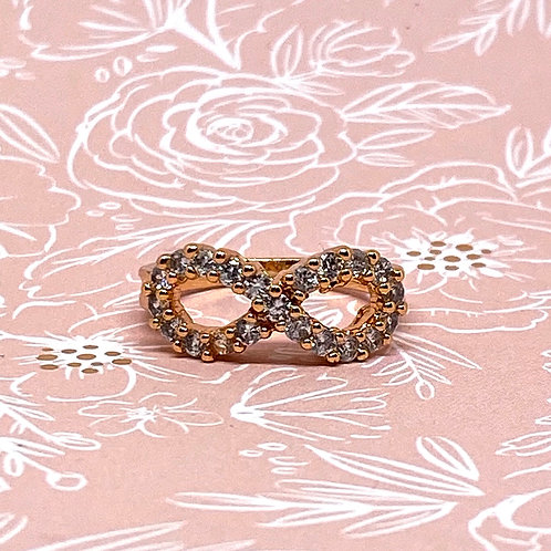 """""""Infinity"""" Gold Ring"""