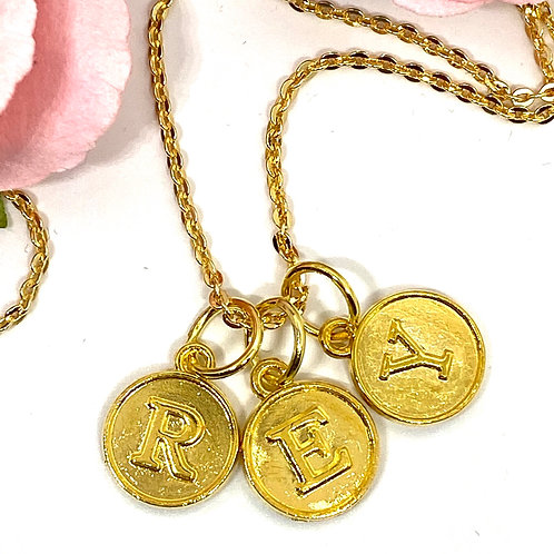 Spell My Name Goldfilled Necklace