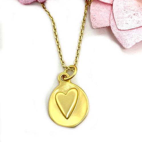 Joyful Heart Gold Necklace