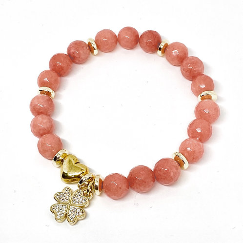 Love and Luck Jade Gemstone Bracelet