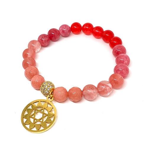 Joy and Vitality Flower of Life Bracelet