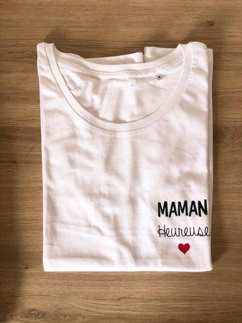 T-shirt Maman Heureuse