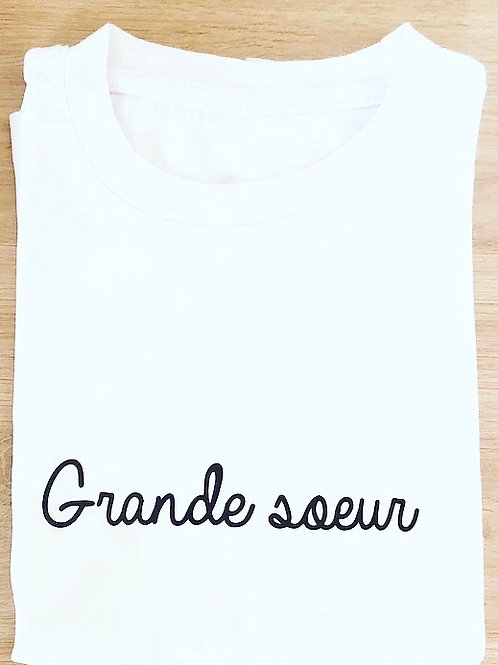 T-shirt Grande soeur / Grand frère