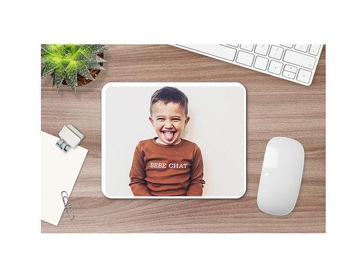 Tapis de souris personnalisé avec photo