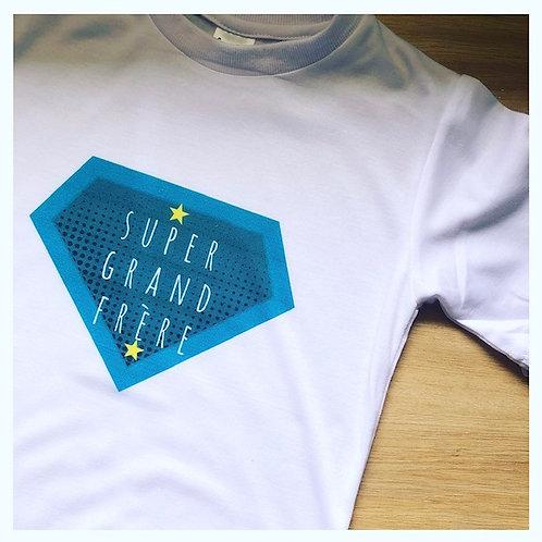 T-shirt Super grand frère