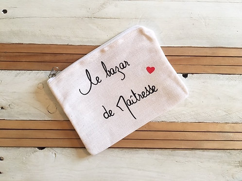 """Pochette""""Le bazar de Maîtresse"""""""