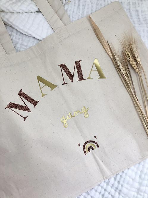 Tote bag MAMA