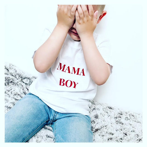 T-shirt MAMA Boy/Girl manches courtes