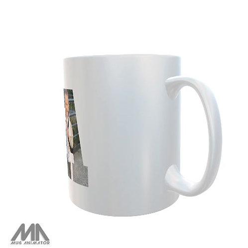 Mug personnalisé PAPA avec photo