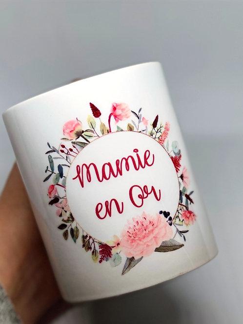 """Mug """"Mamie en or"""""""