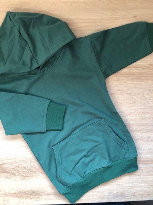 Robe pull légère verte